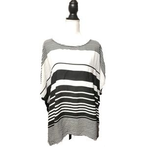 Lane Bryant Women's Blouse Striped Top Sz 18/20